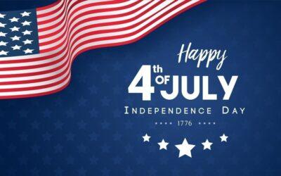 4 Juillet – Independance day