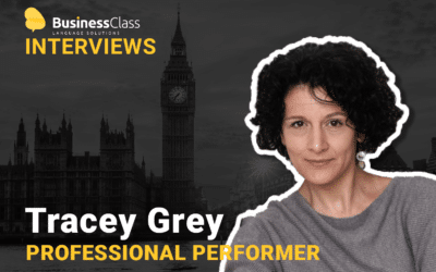 "Tracey Grey, Professional performer (actor, singer, voice-over artist) Are You Underestimating Your Virtual Presence? Learn How to Maximize your Virtual ""Stage"" to Be a More Effective Trainer and Communicator"