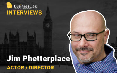 Jim Phetterplace, Actor/director and seasoned linguist Stage Tips to Energize Your Business English Session – The Surprising Synergy between Theater and ESL: Make it Work for You